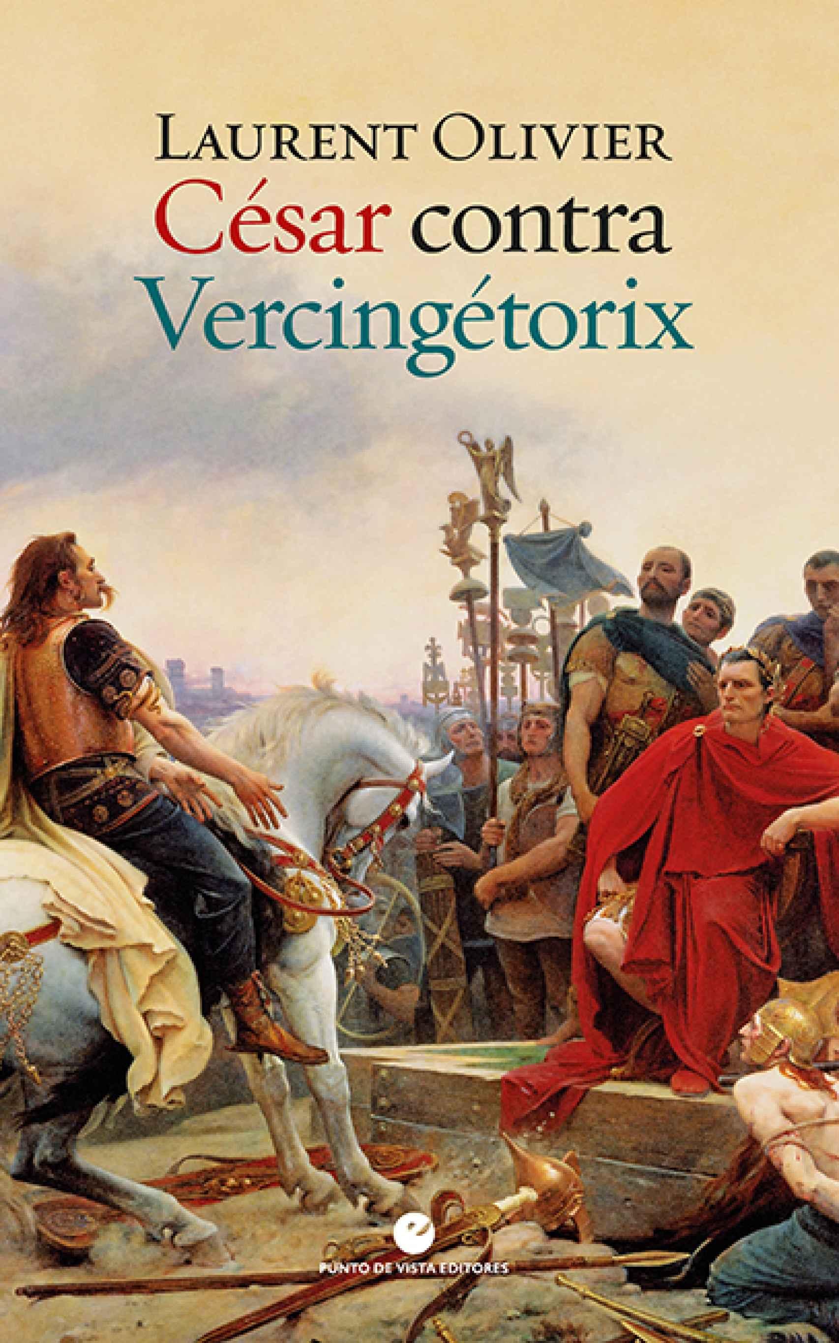 Portada de 'César contra Vercingétorix'.