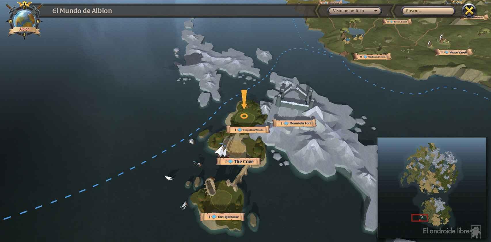 Mapa de Albiol Online