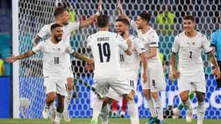 Italia estrena la Eurocopa a lo grande