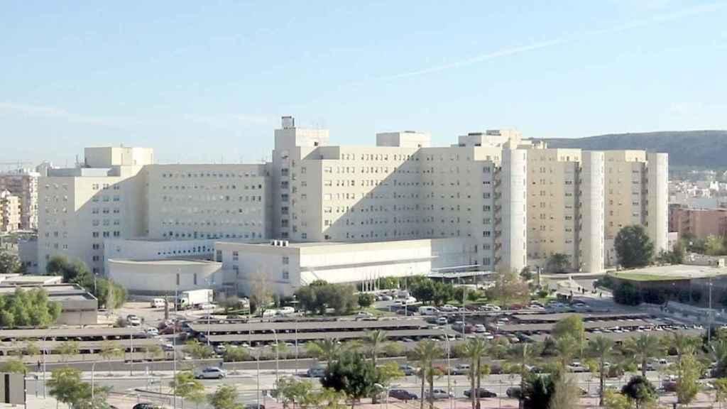 El Hospital General de Alicante, en imagen de archivo.