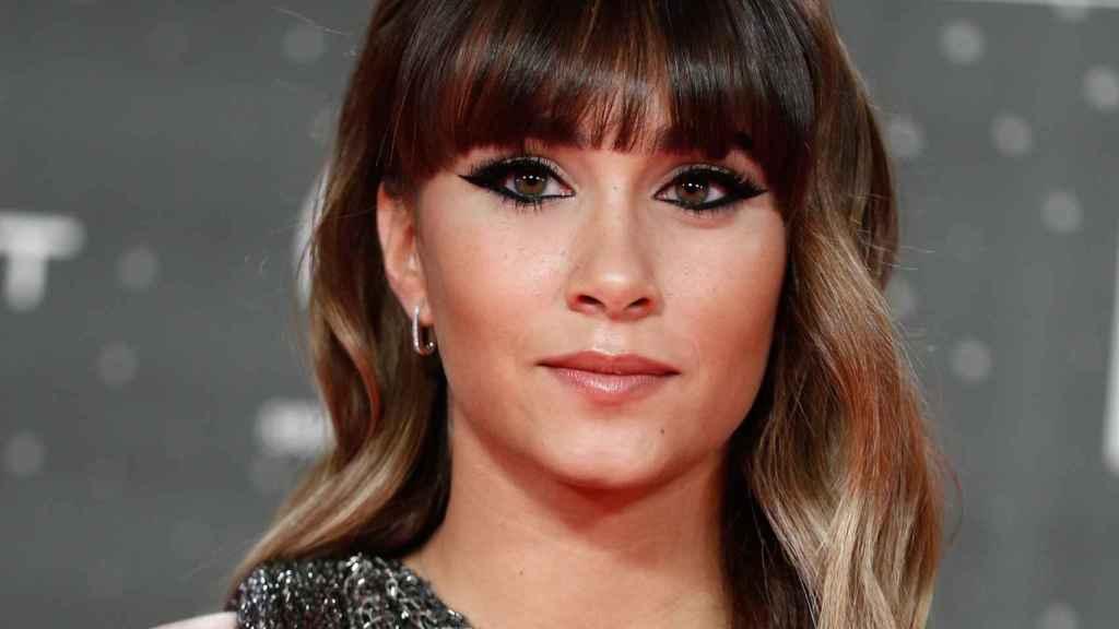 Aitana, durante unos premios en Madrid, celebrados en 2019.