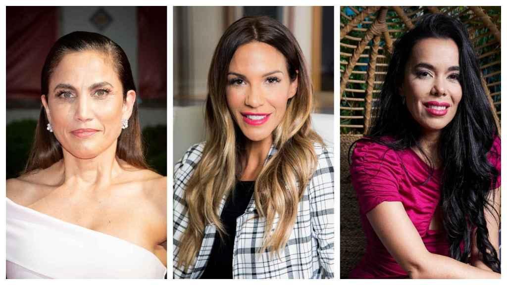 Toni Acosta, Tamara Gorro y Beatriz Luengo en un montaje de JALEOS.
