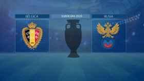 Horario internacional y dónde ver el Bélgica - Rusia de la Eurocopa 2020
