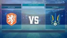 Horario internacional y dónde ver el Holanda - Ucrania de la Eurocopa 2020
