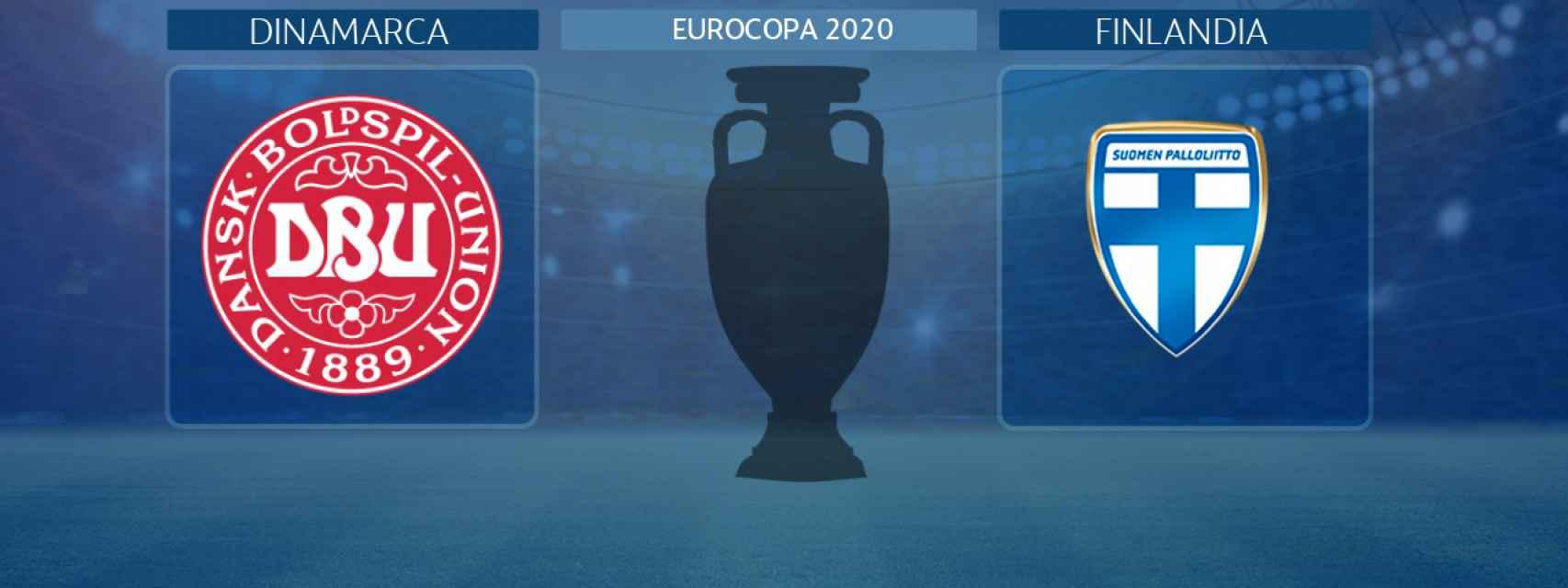 Dinamarca - Finlandia, partido de la Eurocopa 2020