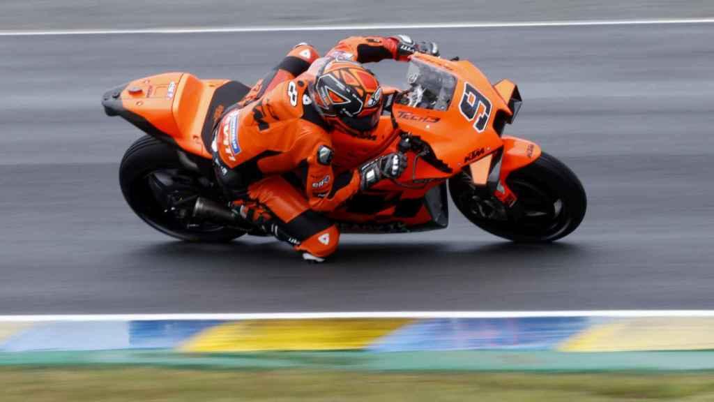 Danilo Petrucci con su KTM