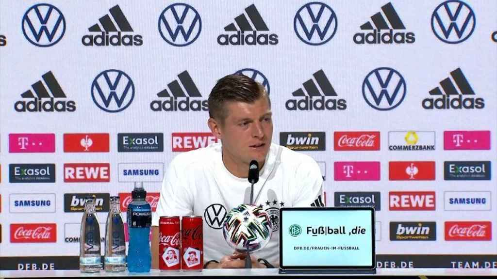 Kroos, en rueda de prensa