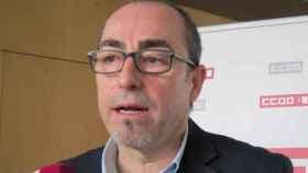 Paco de la Rosa, secretario general de CCOO de Castilla-La Mancha