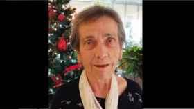 Josefina Gallardo en una imagen del pasado mes de diciembre