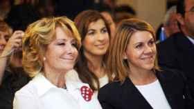 Esperanza Aguirre y María Dolores de Cospedal en una foto de archivo
