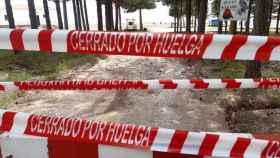 Los trabajadores de Geacam acudirán a los incendios aunque estén en huelga porque el monte es sagrado para ellos