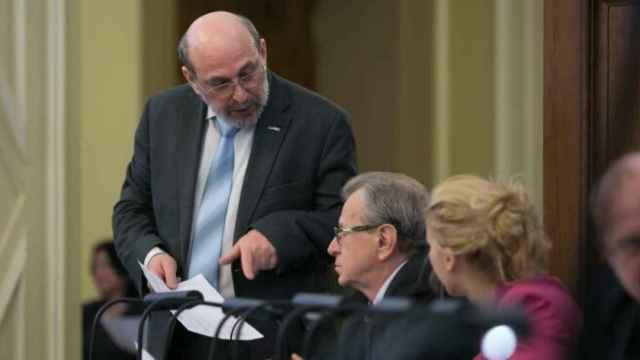 El letón Boris Cilevics, relator del Consejo de Europa.