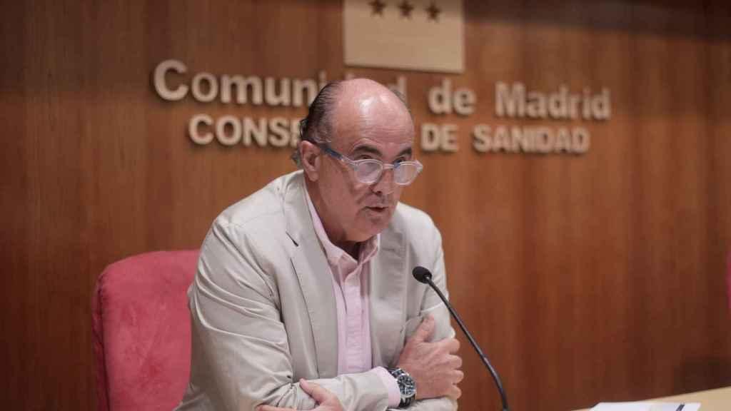 El viceconsejero de Salud Pública y Plan COVID-19 de la Comunidad de Madrid, Antonio Zapatero. EP