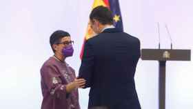 González Laya y Pedro Sánchez, en una foto de archivo.