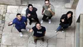 El fundador André Caçador y miembros del equipo humano que hacen posible Uniq Ventures.