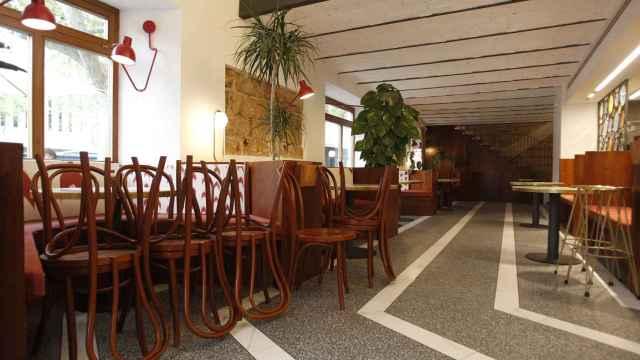 El interior de un bar en Baleares afectado por los cierres de la Covid.