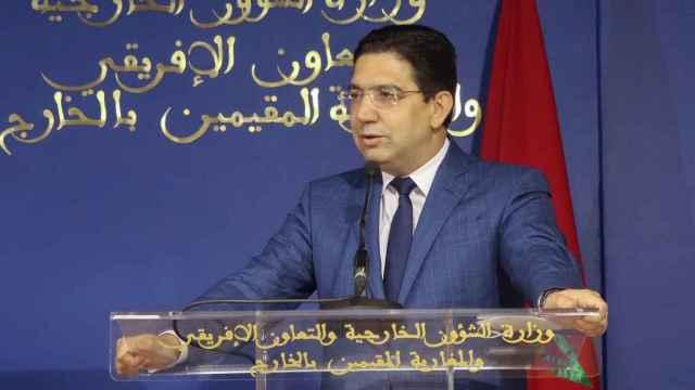 El ministro de Exteriores marroquí, Naser Burita.