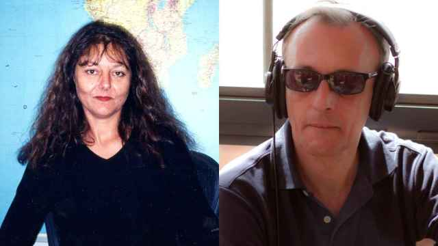 Los periodistas franceses asesinados en 2013 Ghislaine Dupont y Claude Verlon.