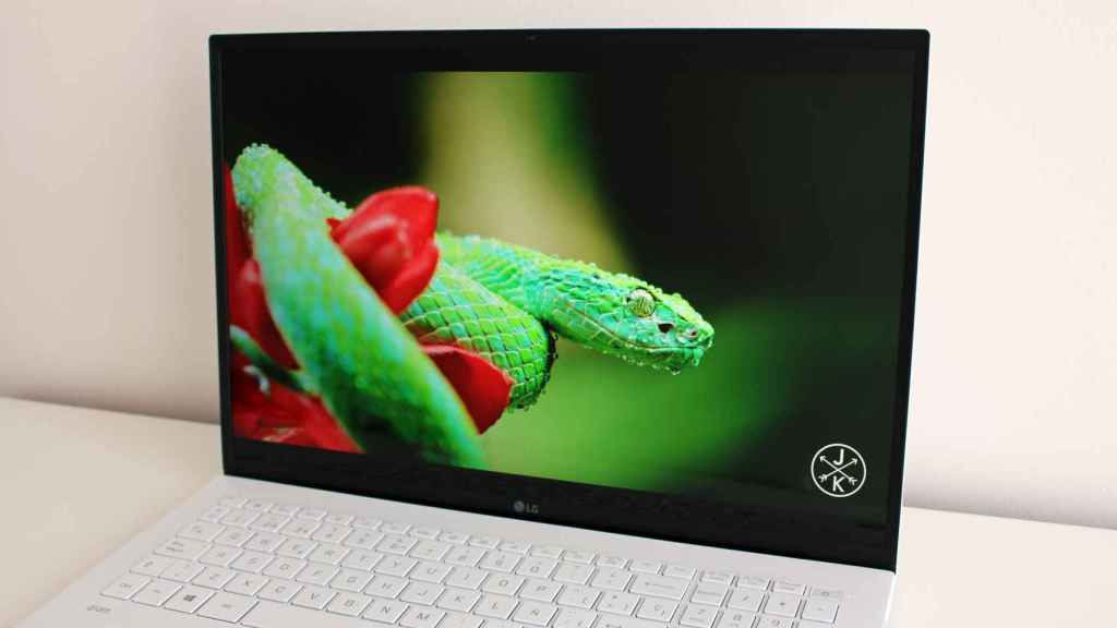 El LG Gram tiene una pantalla con una alta calidad de imagen.