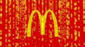 Logo de McDonald's hackeado