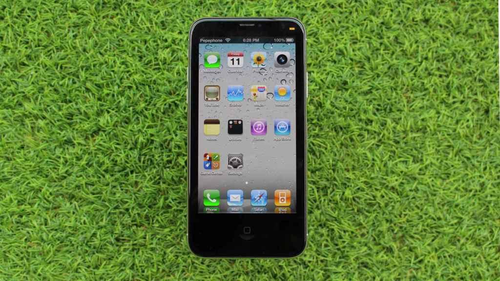 Una aplicación recrea iOS 4 en un iPhone.