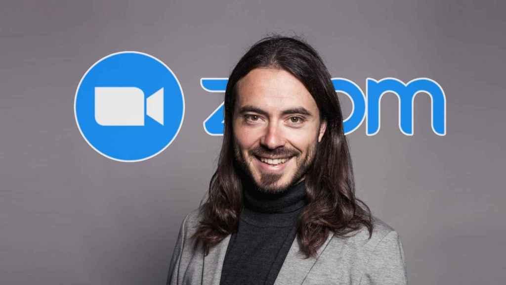 David Calvo, jefe de ventas para el sur de Europa de Zoom.