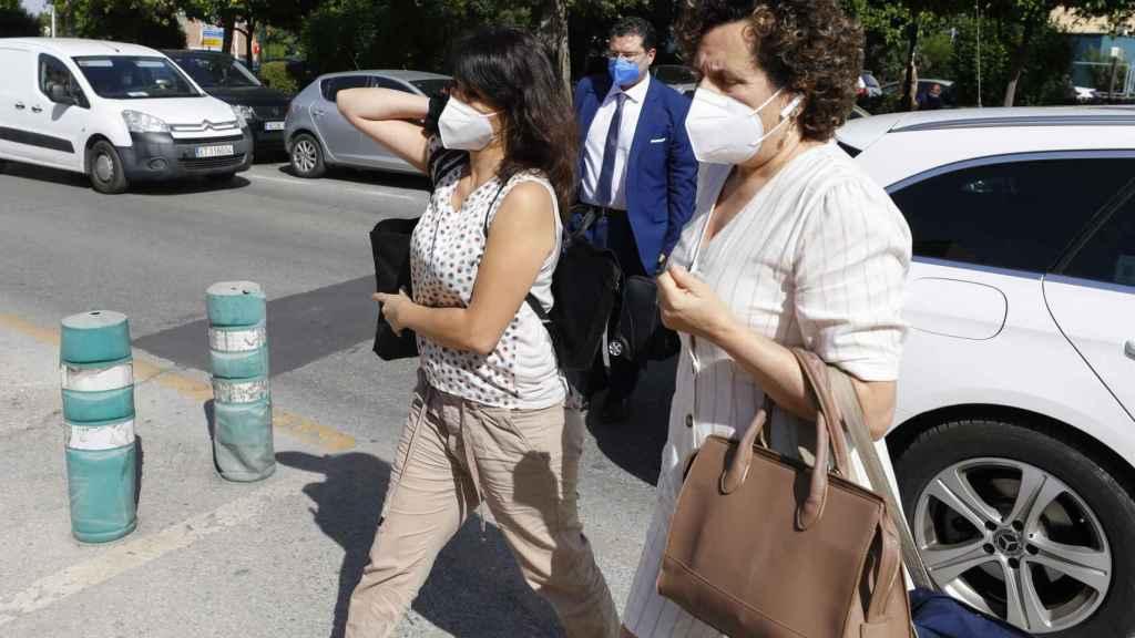 Juana Rivas, antes de acceder al centro de inserción social Matilde Cantos en Granada. EP