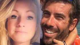 Beatriz Zimmerman y Tomás Gimeno, padre de las pequeñas Anna y Olivia.