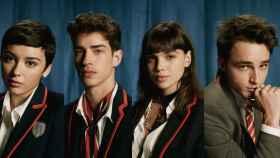 Los nuevos protagonistas de 'Élite' en su cuarta temporada.
