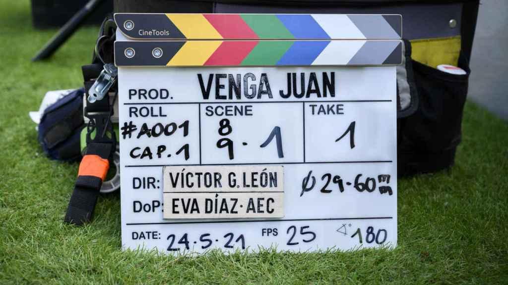 Inicia el rodaje de 'Venga Juan', la tercera temporada de la serie se verá en HBO Max.