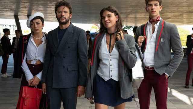 El nuevo reparto de la cuarta temporada de 'Élite'.