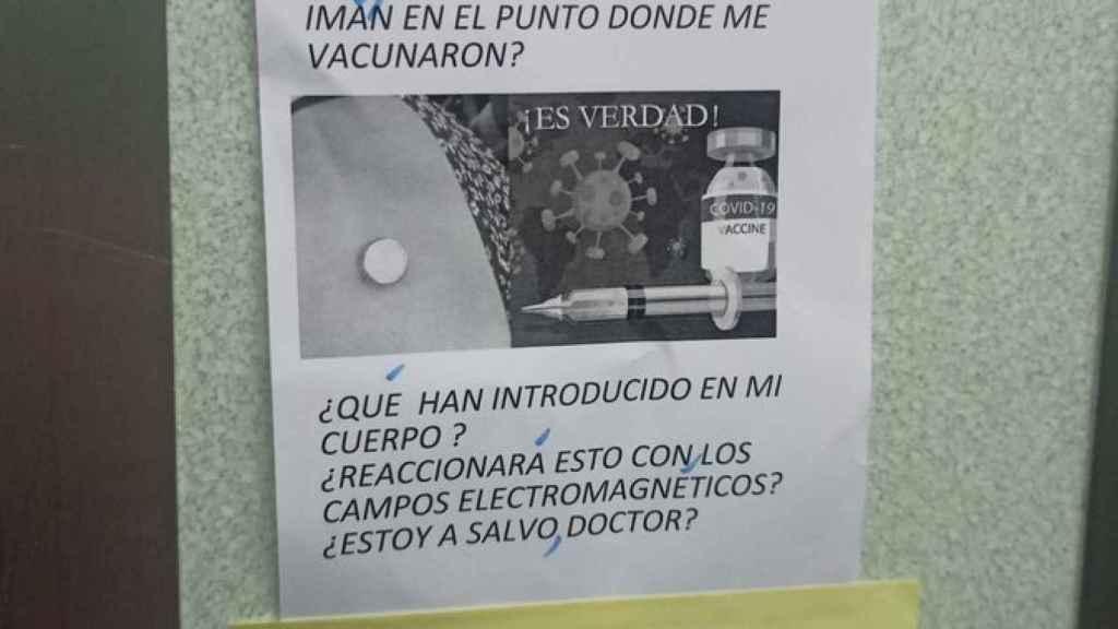 Detalle de la respuesta del médico a la negacionista.