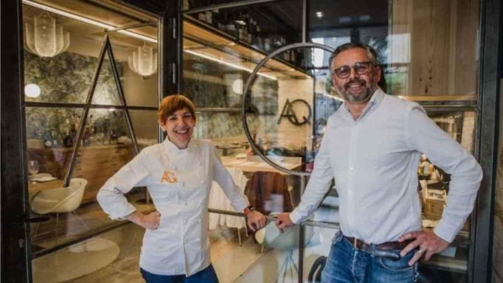 Ana y Quintín son los responsables del restaurante.