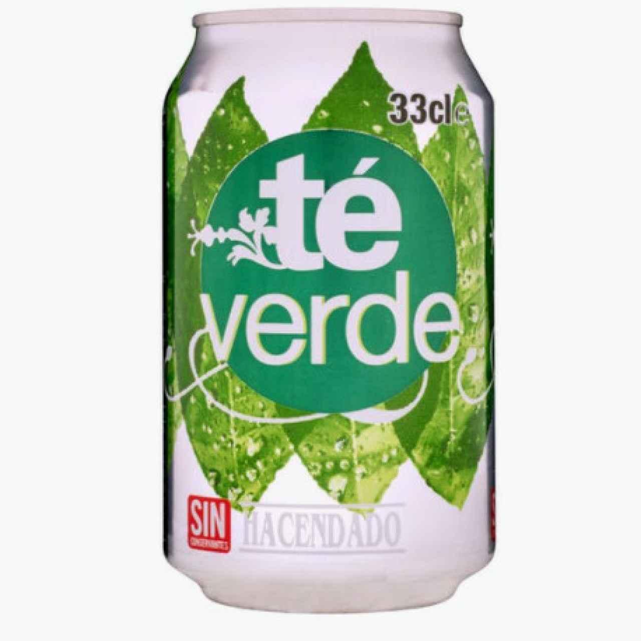 Refresco té verde