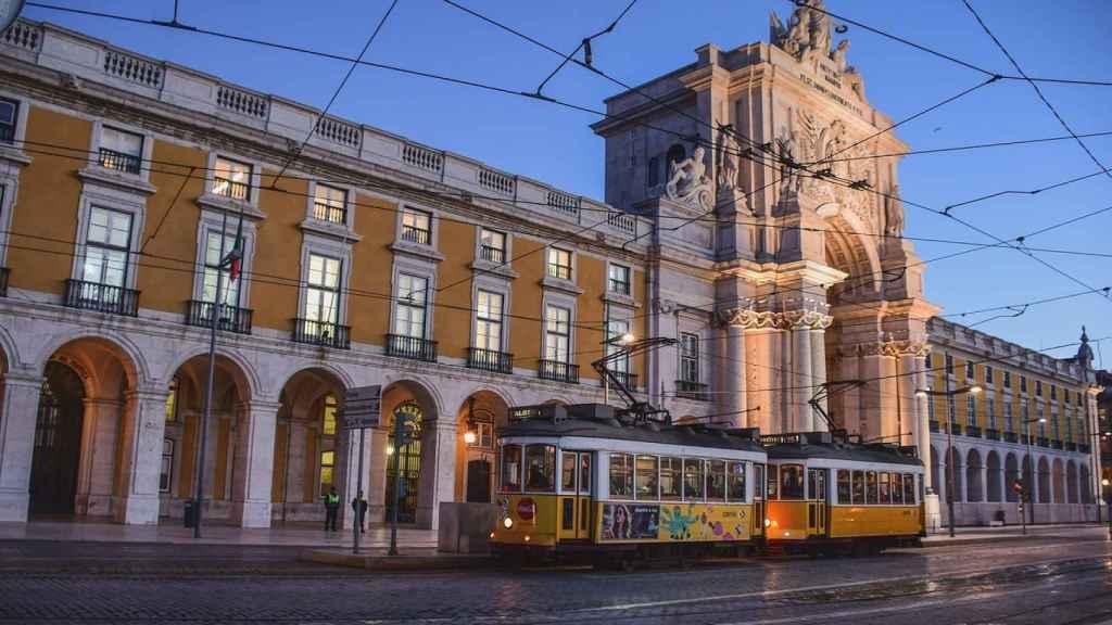 Una de las cosas más características de Lisboa: sus tranvías.