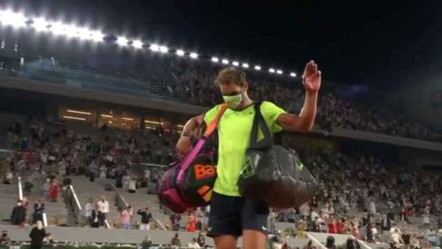 Las imágenes del deporte: la emotiva despedida a Rafa Nadal, el rey de Roland Garros