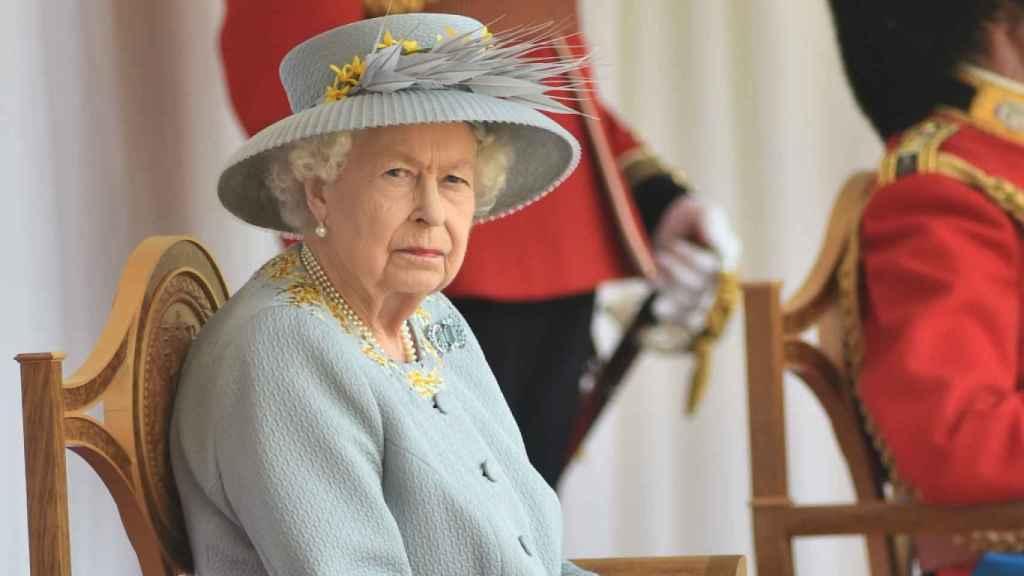 Isabel II en la celebración oficial de su 95 cumpleaños.