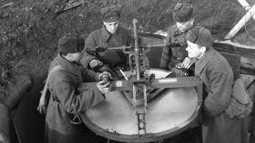 Baterías antiaéreas para la defensa de Moscú