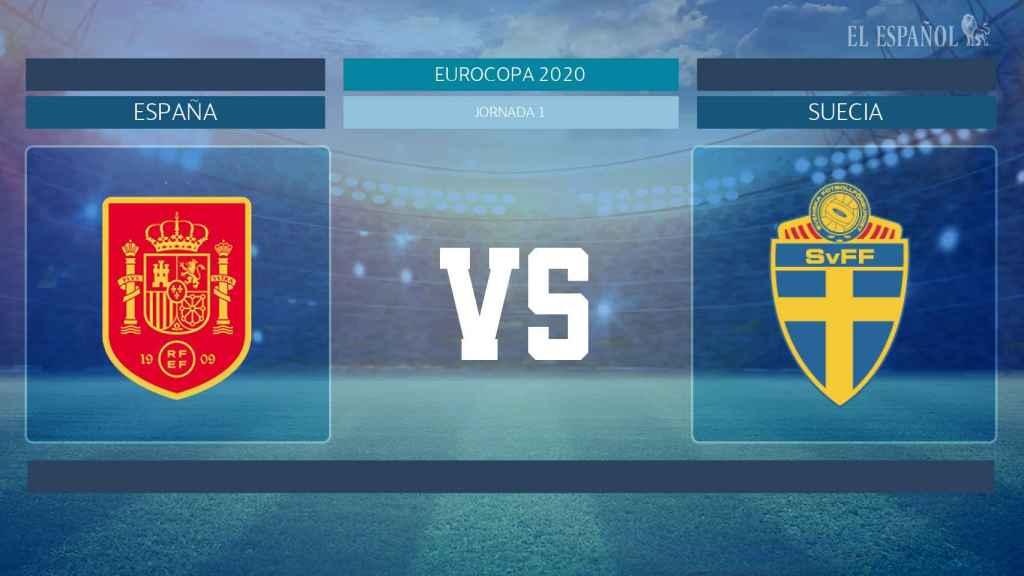 Horario internacional y dónde ver el España - Suecia de la Eurocopa 2020