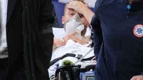 Christian Eriksen muestra síntomas de recuperación tras el colapso sufrido