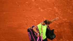 Rafa Nadal, tras perder en Roland Garros