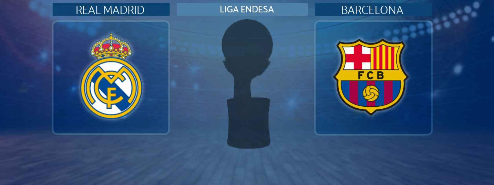 Real Madrid - Barcelona, final de la Liga Endesa