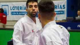 Raúl Cuerva en una competición. Foto: RFEK