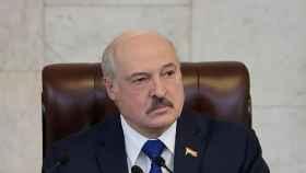 Lukashenko dando un discurso.