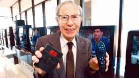 El inventor del mando a distancia televisivo, Eugene Polley.