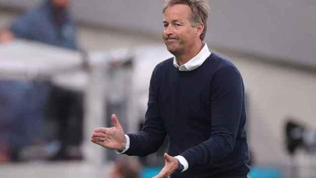 Kasper Hjulmand, seleccionador de Dinamarca