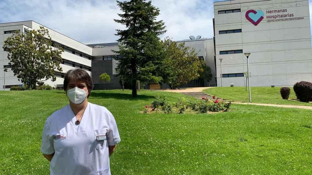 Socorro Martínez, Jefa de la Unidad de Rehabilitación Postcovid del Centro Hospitalario Benito Menni, en Valladolid..