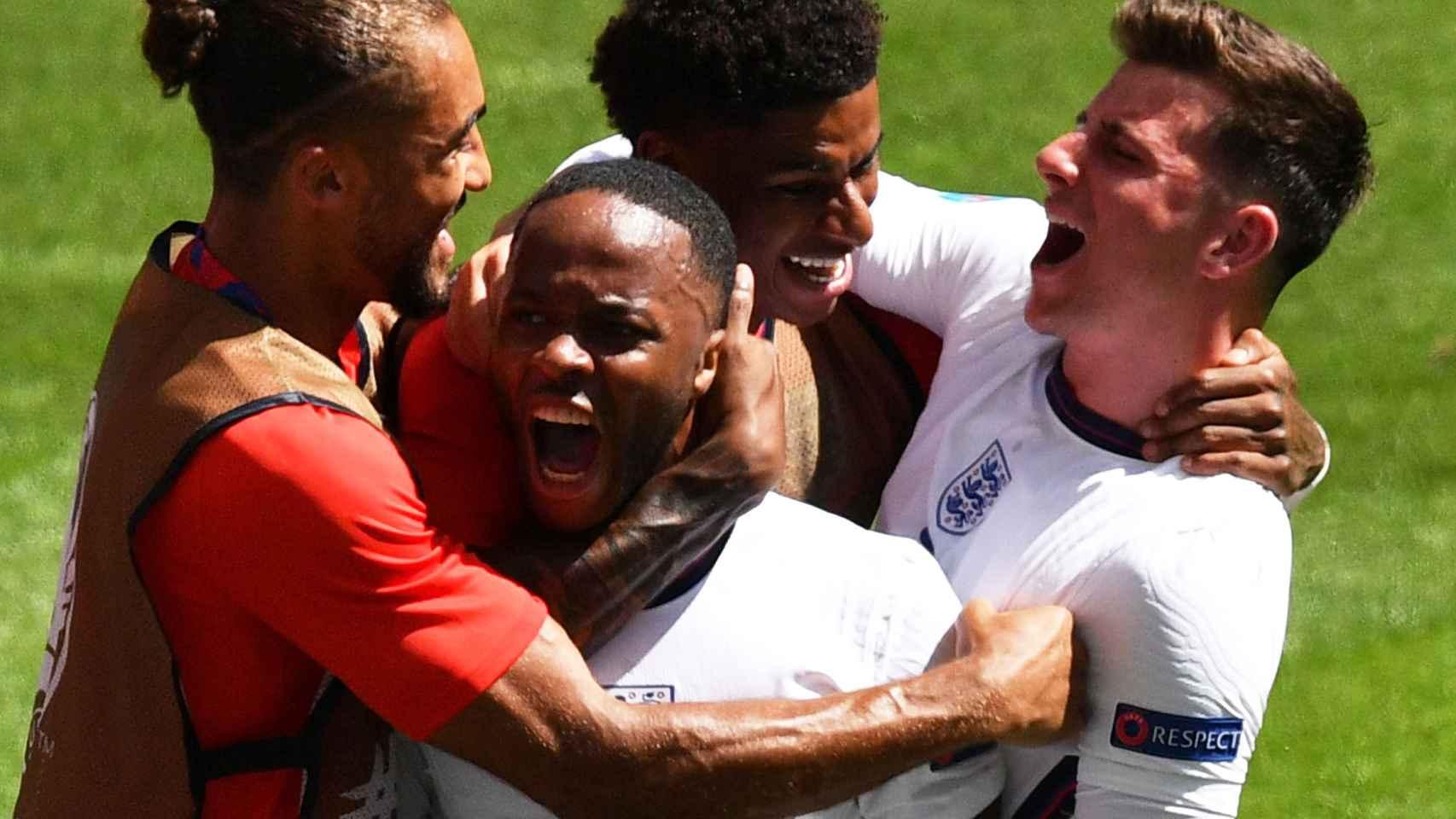 Inglaterra cumple con un gol de Sterling ante Croacia y sigue el paso de los favoritos a la Eurocopa