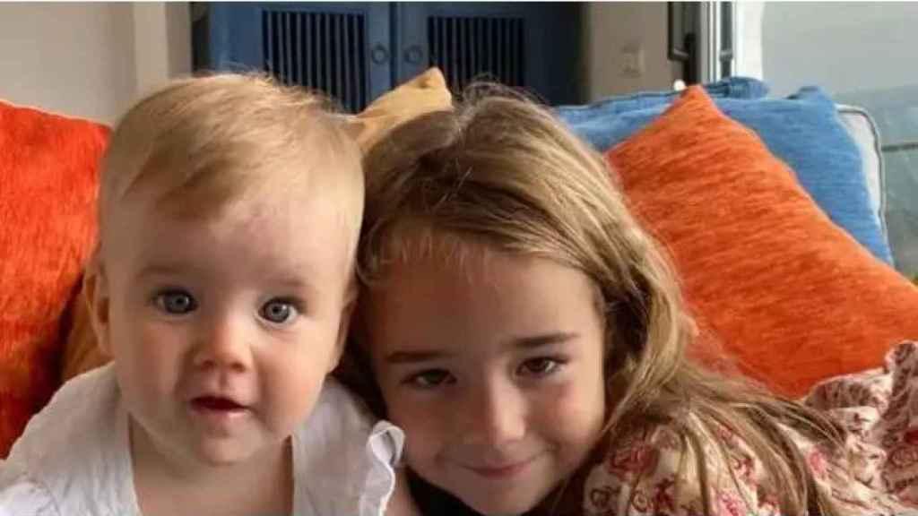 Las pequeñas Anna y Olivia, presuntamente asesinadas por su padre, Tomás Gimeno.