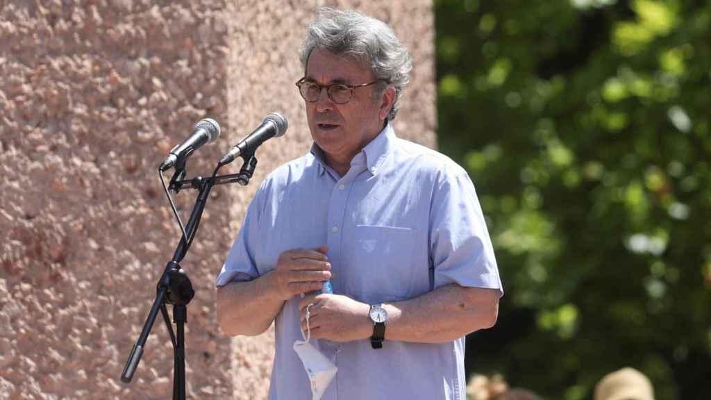 Andrés Trapiello, en un momento de su discurso.